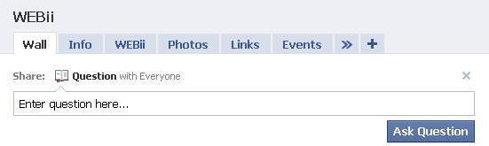 Facebook Questions