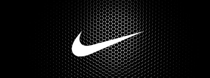 website example with Nike logo