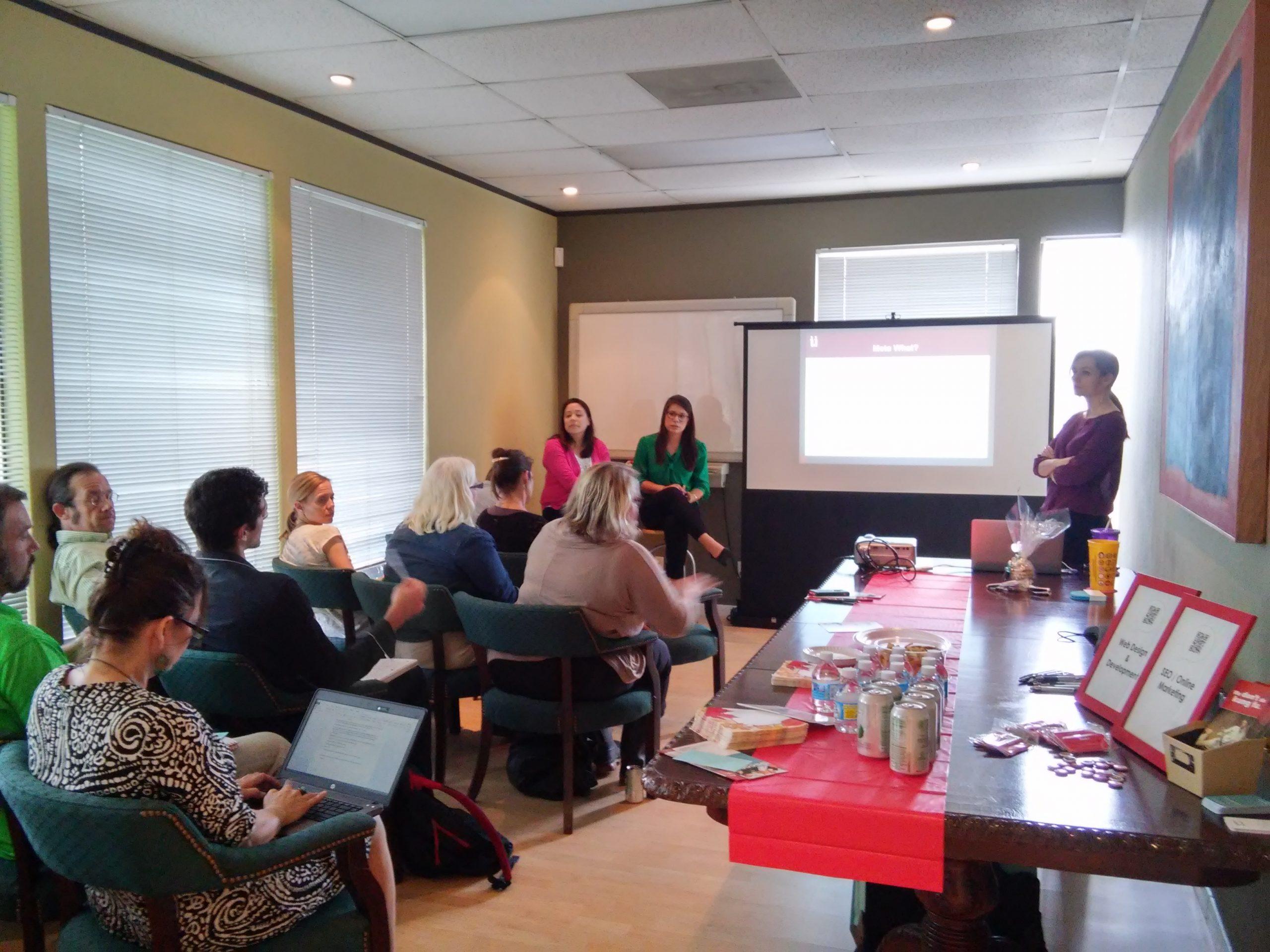 WEBii Event content marketing Workshop