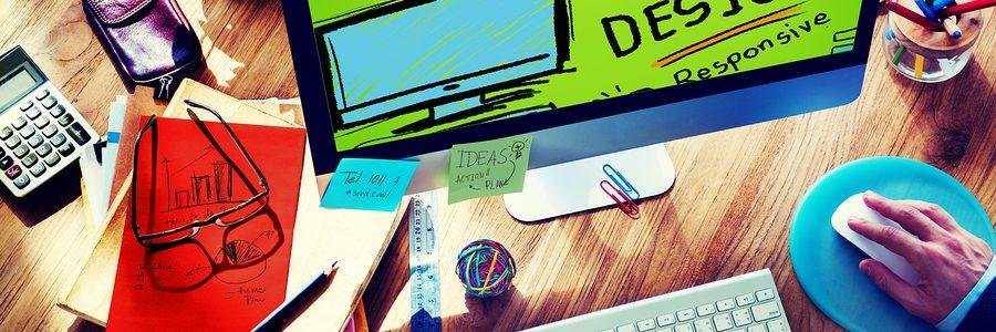 Web Design Web Development Responsive Branding Concept