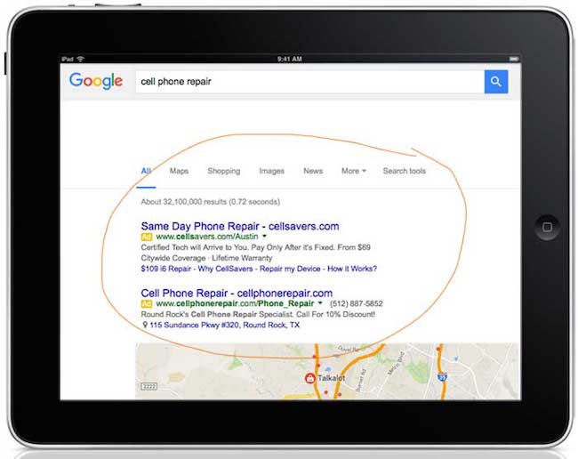 google-ppc-adwords-example