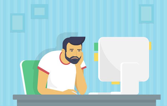 Frustrated Website Manager