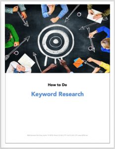 How To Do Keyword Research Ebook