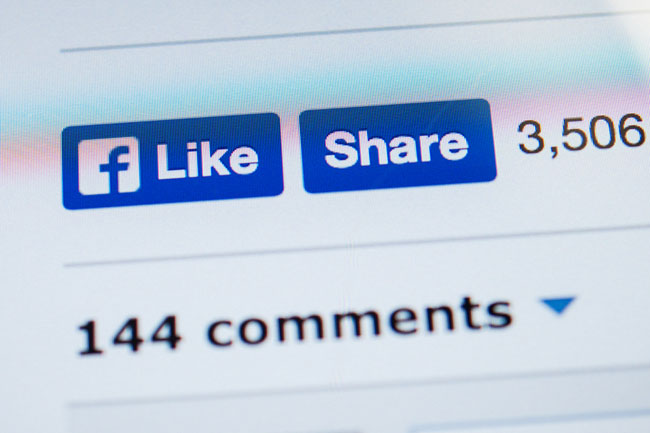social media likes and website promotion