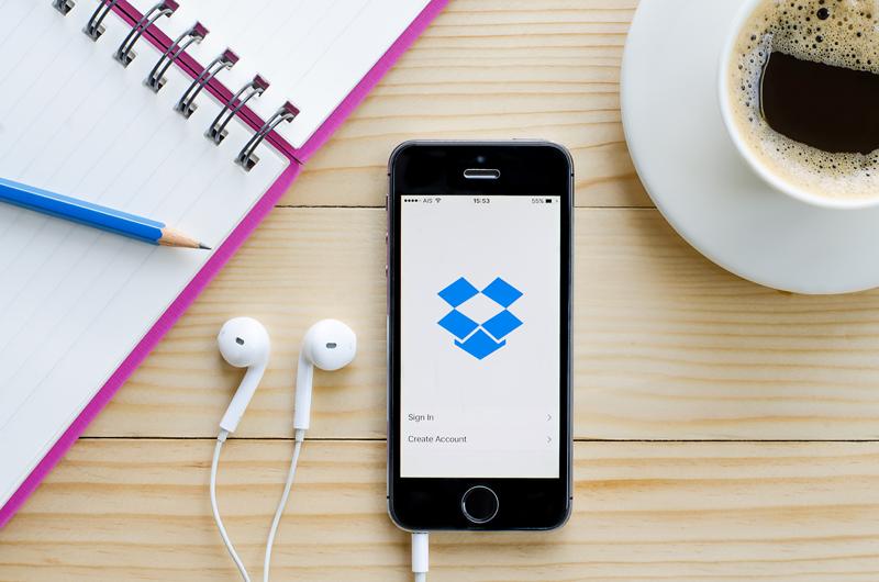 Dropbox app