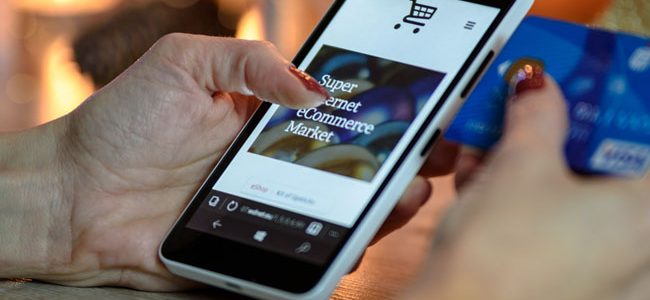 Phone shopper e-commerce