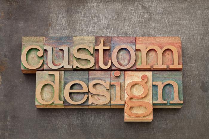 vintage custom design lettering