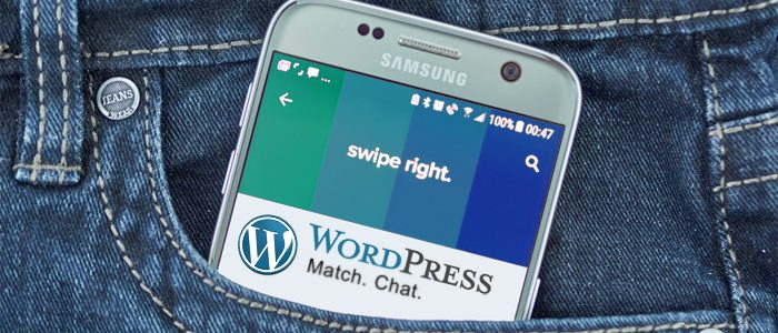 Swipe Right for WordPress