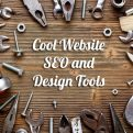 website tools for seo and design