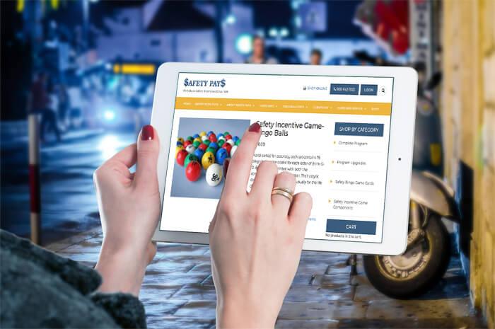 Safety Pays on iPad