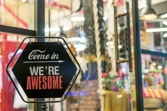 Come in - We're Awesome