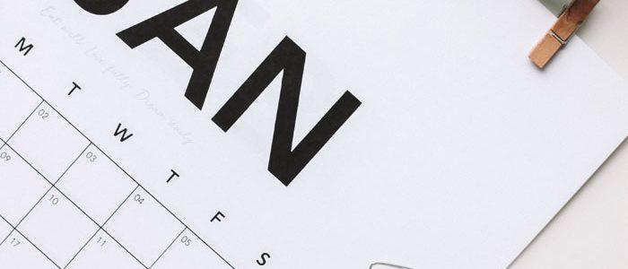 Scheduling website design