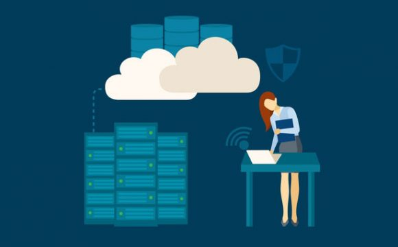 Dedicated server hosting concept