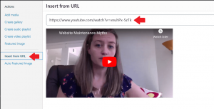 Embed a Video in WordPress