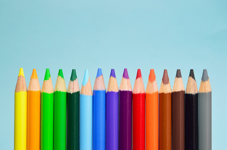 Unique Colors in Web Design