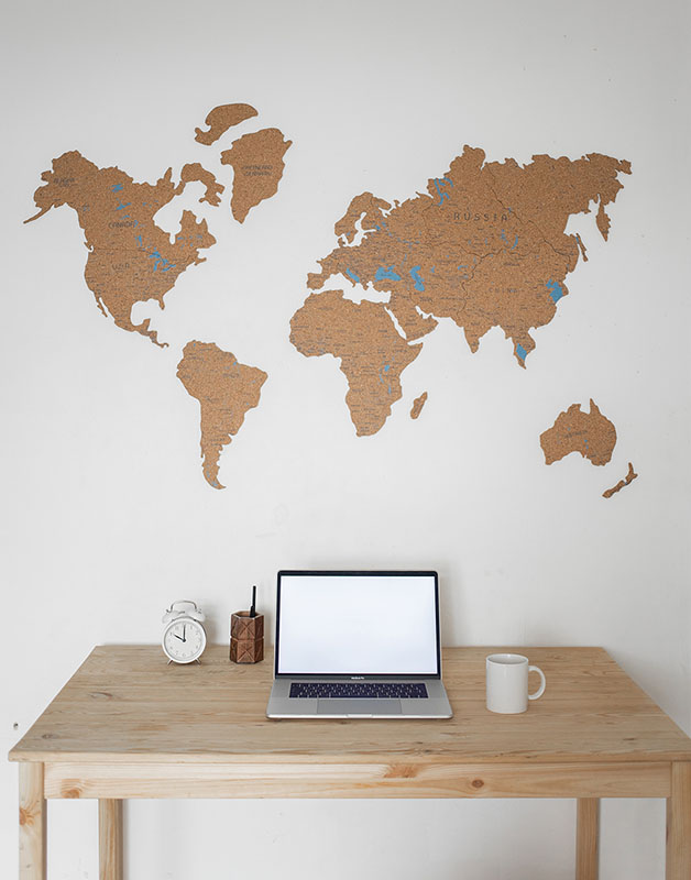 Global websites and business concept