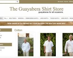 guayabera web commerce