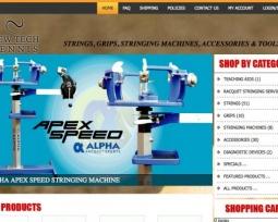 New Tech Tennis website commerce