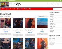 Pretty Cool Art art selling website