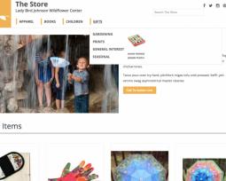 The Wildflower Center online shop