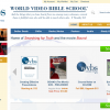 Ecommerce - video bible school and study material site