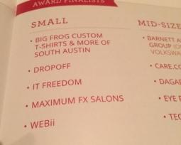 Austin Chamber Awards 2015