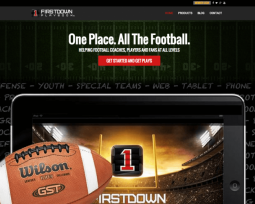 Firstdown PlayBook website
