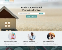 MoreNests real estate concept site