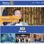 Non Profit Rotary Web Design
