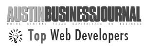 Austin Business Journal top web developer