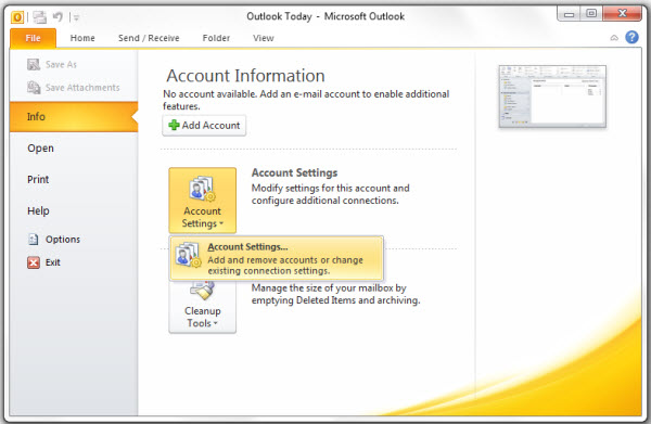 outlook2013-filemenu
