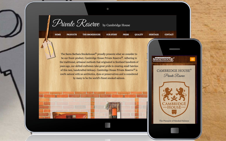 Santa Barbara Smokehouse web design