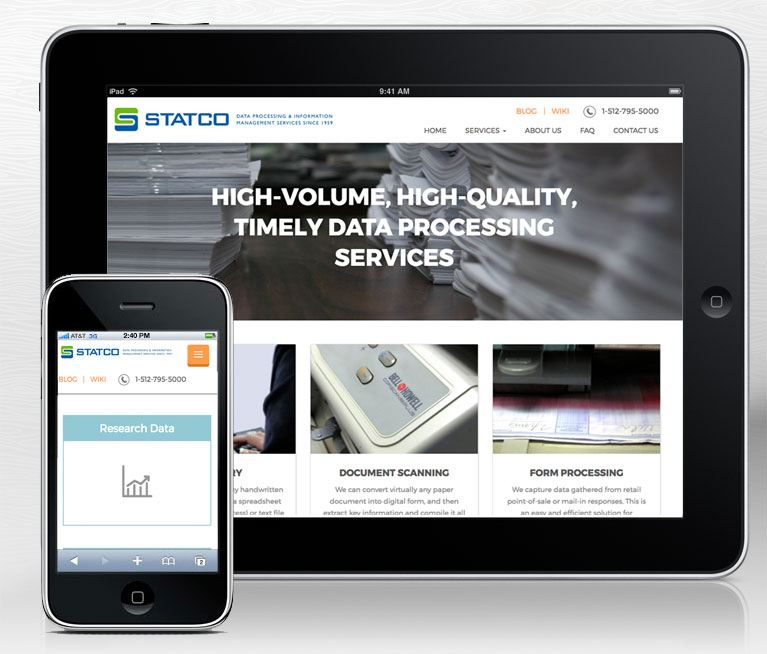 Statco web design project