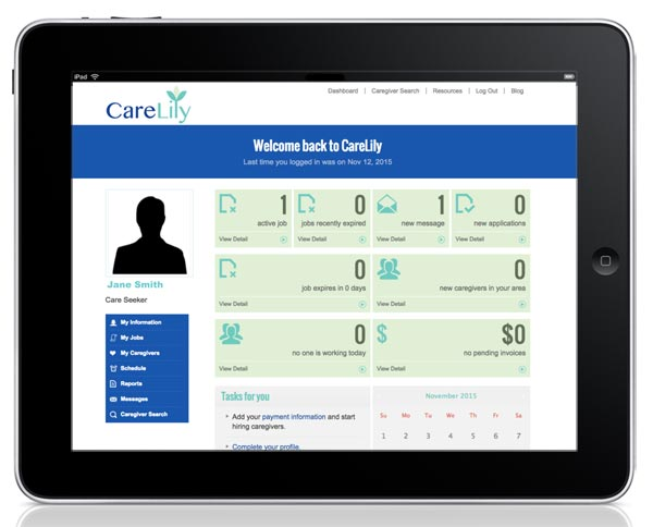 healthcare web development case study