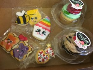 Treat gifts from Hayley Cakes and Cookies