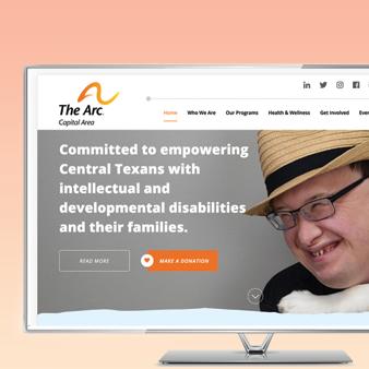 Case Study The Arc Austin Web Design