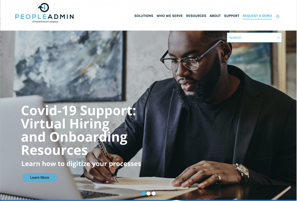 PeopleAdmin Web Design