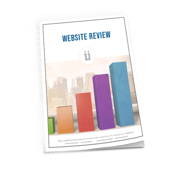 website review report by WEBii large cover