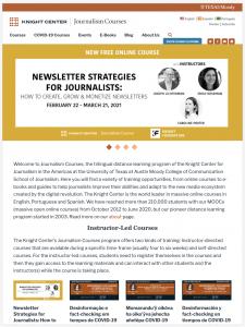 Journalism Website Development