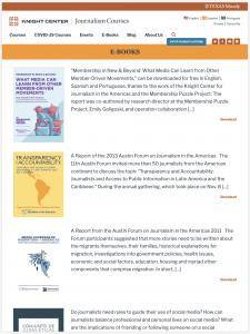 Journalism Website Development Project Ebooks