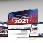 AFCA convention web design