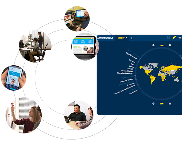 WEBii web development team dynamic graphic 2021